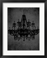 Framed Chandelier IV
