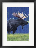 Framed Moose 1
