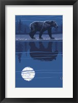 Framed Black Bear 2