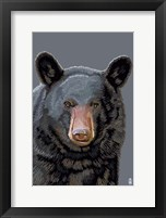 Framed Black Bear 3