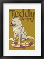 Teddy Slayer Framed Print