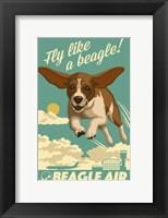 Framed Fly Like a Beagle