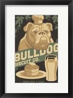 Framed Bulldog Biscuit Co.