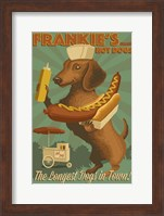 Framed Farnkie's Hot Dogs