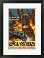 The Greatest Dane Framed Print