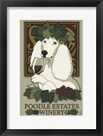Poodle Estates Winery Framed Print
