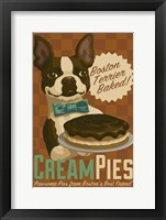 Cream Pies Framed Print