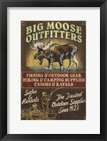 Framed Big Moose Outfitters