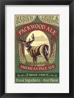Framed Packwood Ale