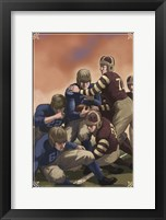 Framed Vintage Football 4