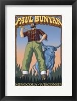 Framed Paul Bunyan