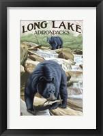 Framed Long Lake