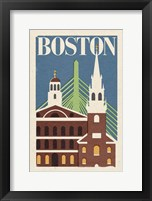 Framed Boston