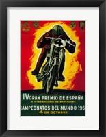 Framed Gran Premio de Espana