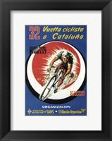 Framed 32 Vuelto Ciclista Cataluna