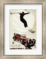 Framed Mercedes Benz
