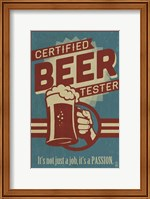 Framed Beer Tester