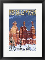 Framed Bryce Canyon - Winter