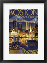 Boston MA Framed Print