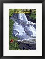 Framed Laurel Falls