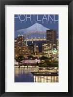 Portland Framed Print