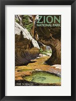 Zion National Park 2 Framed Print