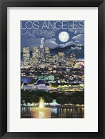 Los Angeles CA Framed Print