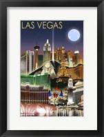 Las Vegas NV Framed Print