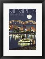 Memphis TN Framed Print