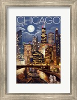 Framed Chicago IL