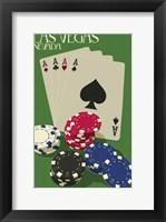 Framed Four Aces
