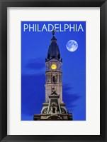 Framed Philadelphis PA