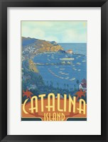 Framed Catalina Island