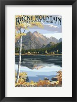 Framed Rocky Mountain 1