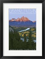 Framed Grand Teton
