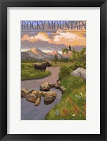 Framed Rocky Mountain 2