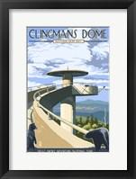 Framed Clingman's Cove