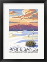 Framed White Sands