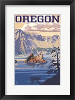 Framed Oregon