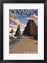 Olymppic Framed Print