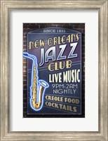 Framed New Orleans Jazz