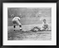 Framed Vintage Baseball 7