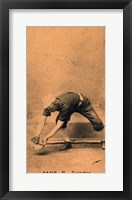 Framed Vintage Baseball 26