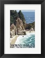 Framed McWay Falls