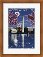 Framed Washington DC