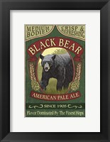 Framed Black Bear Pale Ale