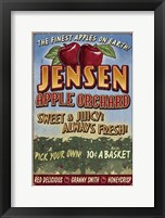 Jensen Apple Orchard Framed Print