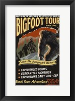 Framed Big Foot Tour