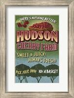 Framed Hudson Cherry Farm