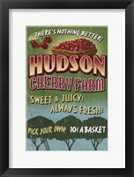 Framed Hudson Cherry Farm